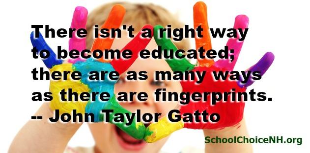 colorful hands Gatto quote